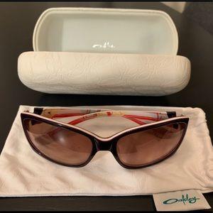 Oakley Purple Women's Sunglasses - like new!